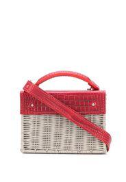 straw box bag