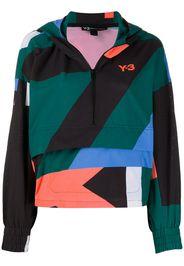 Giacca con design color-block