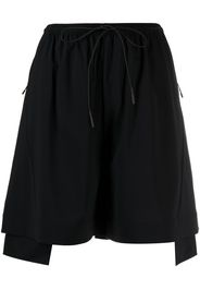Y-3 ADIDAS Shorts con coulisse - Nero