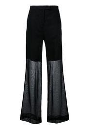 elegant wide trousers