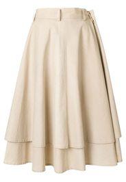 double-layered full skirt