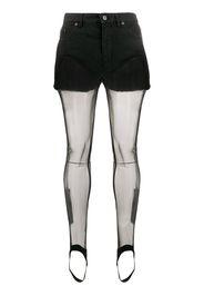 Shorts con calze