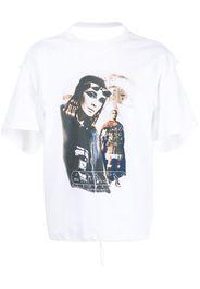 Y/Project photgraph-print cotton T-shirt - Bianco