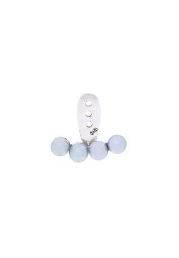Orecchino con 4 piccole perle