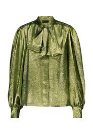 Camicia in seta e lamé