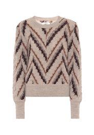Pullover Glenny in alpaca, lana e lino