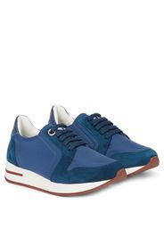Sneakers My Wind in tessuto e suede
