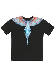 T-shirt Wings in cotone con stampa