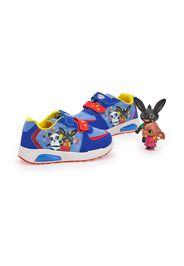 Bing Sneakers Bambino Blu In Materiale Sintetico Con Chiusura In Velcro