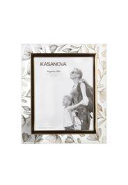 Porta foto fiori Beltrami in vetro e argento, da 28,2x33,3 cm