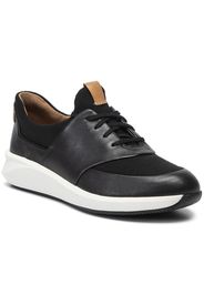 Sneakers CLARKS - Un Rio Lace 261403954  Black Leather