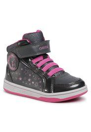 Sneakers GEOX - J Maltin G. A J0400A 0BCHI C9325 M Dk Grey/Fuchsia