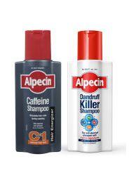 Alpecin Dandruff Killer and Caffeine Shampoo Duo