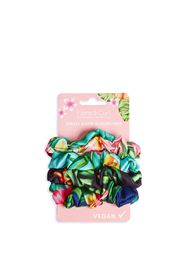 Flora & Curl Small Satin Scrunchies