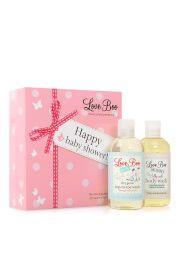 Love Boo Happy Baby Shower - cofanetto regalo docciaschiuma mamma e baby bagnetto
