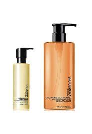 Shu Uemura Art of Hair ShampooOlio Detergente Anti-Secchezza del Cuoio Capelluto(400ml) e Balsamo(250ml)