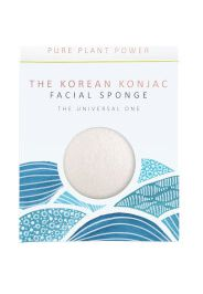 The Konjac Sponge Company The Elements Water spugna viso - konjac bianco 100% puro 30 g