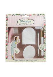 The Vintage Cosmetic Company kit completo per la pulizia del viso