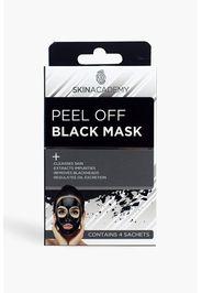 Maschera Peel Skin Academy nera, Nero