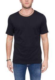 T-Shirt Blu In Cotone Platinum