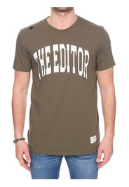 T-Shirt Vere In Cotone Con Stampa Logo Fronale