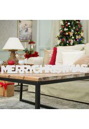 Scritta Merry Christmas alta 8cm