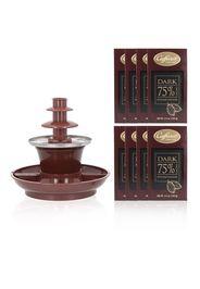 Fontana di Cioccolato con 8 tavolette Dark 75%