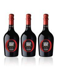 Sassomoro Lambrusco Modena DOC 3 bottiglie
