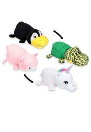 2 peluche reversibili: unicorno e tartaruga