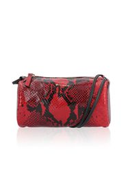 Borsa made in Italy pelle stampa pitone