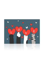 Cats&Hearts Tappetino antiscivolo