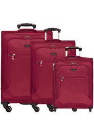 D&n travel line 6400 valigie 4 ruote set di 3pz.