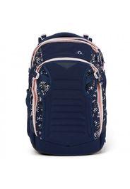 Match zaino di scuola 45 cm scomparto laptop dark blue rose white