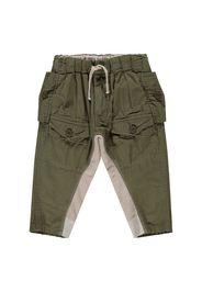 Pantalone in bi-matière con tasche