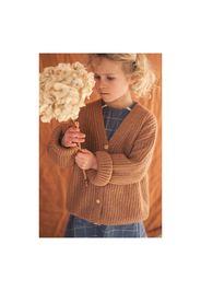Cardigan in lana e Mohair Constance