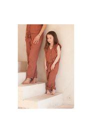 Exclusive Marlot x Smallable - Toscane Organic Cotton Muslin Jumpsuit