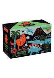 Puzzle fosforescente dinosauro 100 pezzi - 5 a 8 anni
