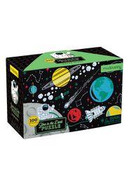 Puzzle fosforescente spazio 100 pezzi - 5 a 8 anni