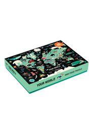 Puzzle 1000 pezzi il mondo - 8 anni e +