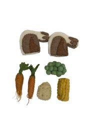 Costolette d'agnello in lana- Set da 7