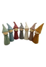 Felt Wool Elves - Set of 7
