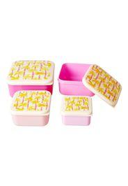 Lunch Box Palme - Set da 4