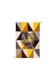 Tappeto Circo Arlecchino Tigre - Marrone
