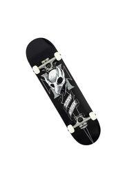 Skateboard Crest Black 8