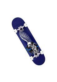 Skateboard Full Skull 2 Blue 7.5