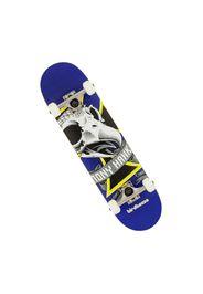 Skateboard Oversized Skull Mini Blue 7.25