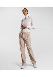 Pantaloni in velluto svasati