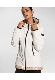 Giacca/felpa in nylon e jersey