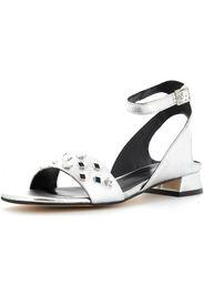 scarpe donna sandali AV0400N ARGENTO