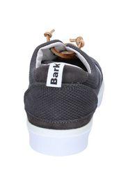 sneakers grigio tessuto camoscio AG587